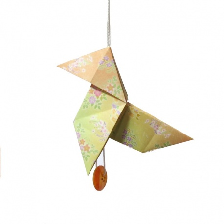 Pendouille cocotte origami