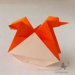 Poulette origami