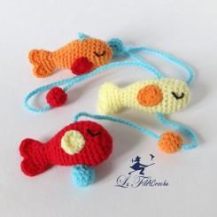 Guirlande pour bébé poissons: Triton