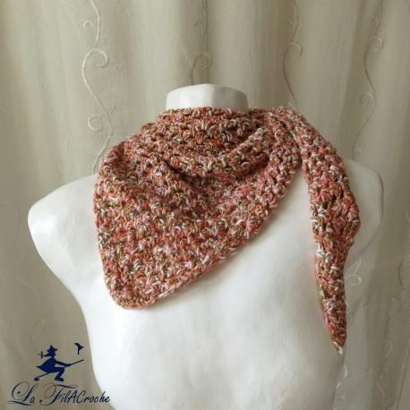 Chèche Half granny au crochet