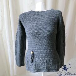 Gros pull au crochet Zazou 38-40