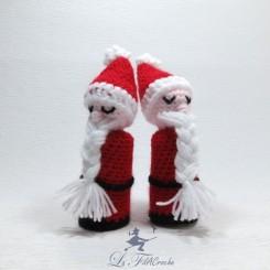 Père Noël au crochet amigurumi