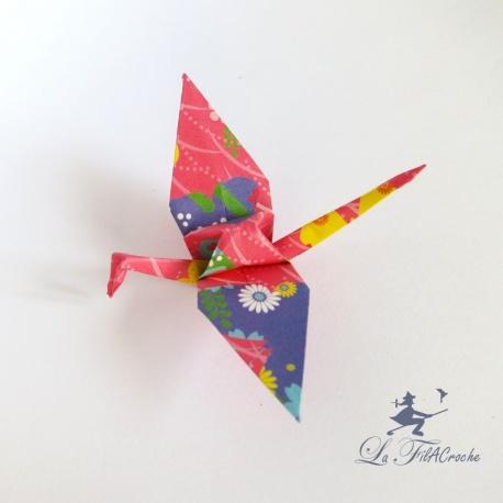 Grues origami Yuzen