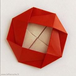 Camélias en origami