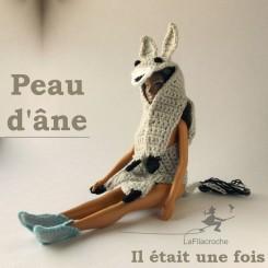 Peau d'âne pour poupée mannequin