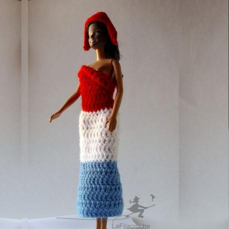 Costume Marianne pour Barbie