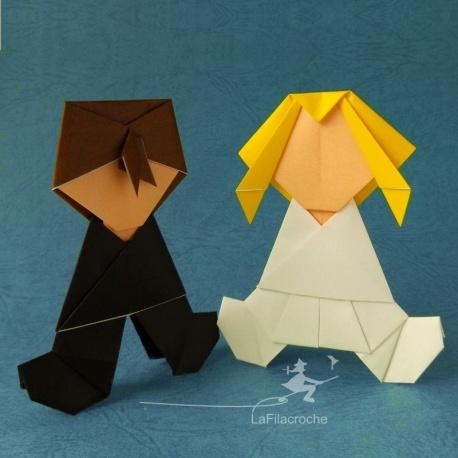 Mariés en papier