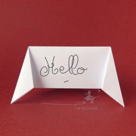 Marque-place écriteau en origami