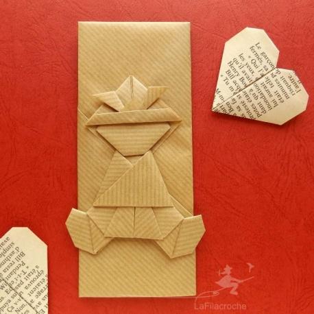Marque-page-samourai-origami
