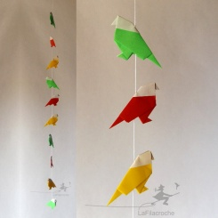 guirlande zozios origami rasta