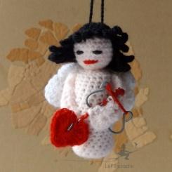 Poupée d'art Cupidon