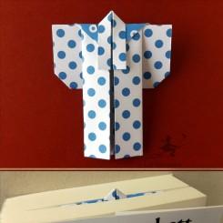 Marque-page kimono