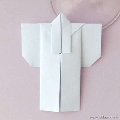 marque-place Kimono origami