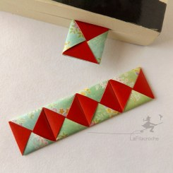 Marque-page Menko origami