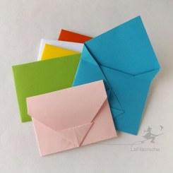 Enveloppe chinoise en origami