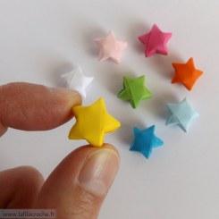Étoiles chinoises du bonheur en origami