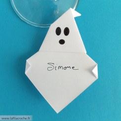 Marque-place fantôme origami