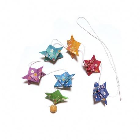 Guirlande de sumos en origami: Fusuke