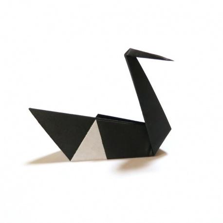 20 Cygnes en origami